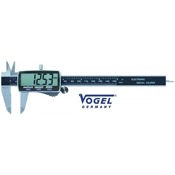 VOGEL GERMANY 202011-3 CALIBRO DIGITALE DI PRECISIONE A CORSOIO 150mm