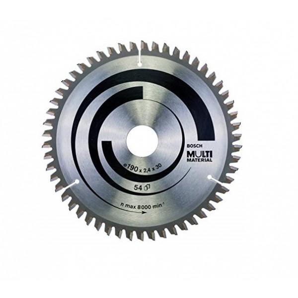 BOSCH 2608640509 LAMA DISCO X SEGA CIRCOLARE MULTI MATERIAL D190X2,4X30mm Z 54
