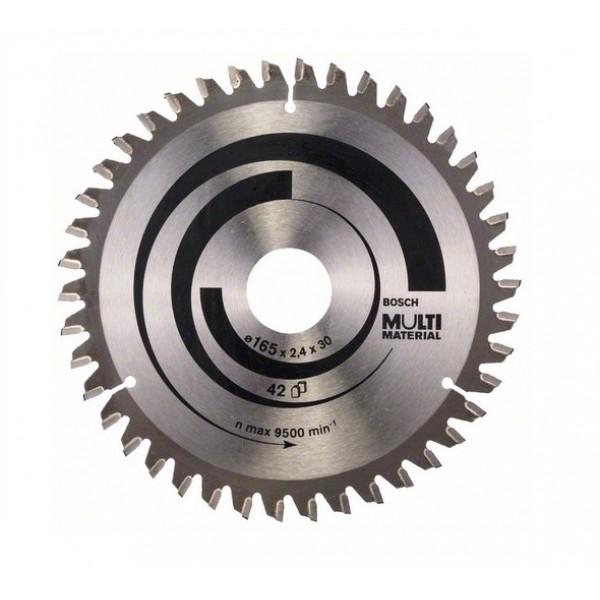 BOSCH 2608640519 LAMA DISCO X SEGA CIRCOLARE MULTI MATERIAL D165X2,4X30mm Z 42