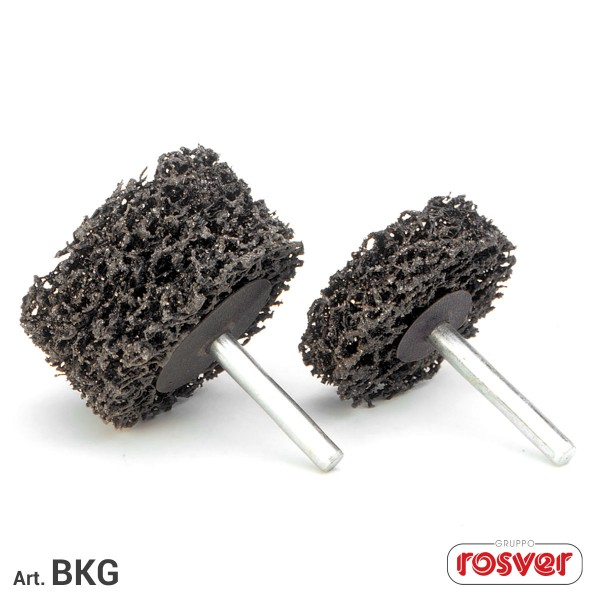 ROSVER BKG DISCO DISCHI SINGOLI BLACK CLEANER CON GAMBO 6 mm