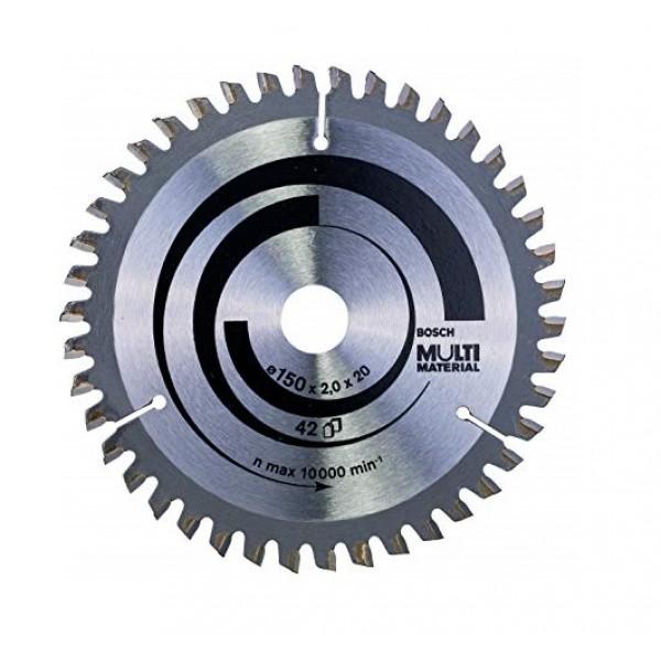 BOSCH 2608640501 LAMA DISCO X SEGA CIRCOLARE MULTI MATERIAL D150X2,0X20/16 Z 42