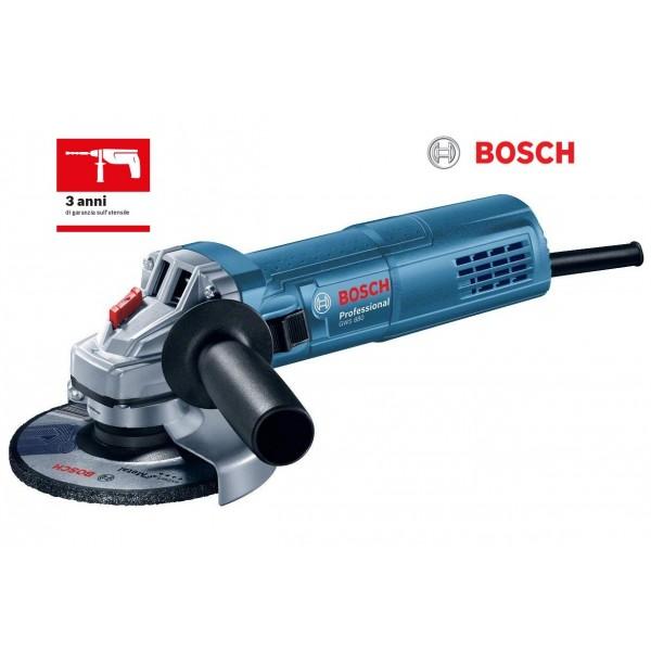 BOSCH GWS 880 WATT SMERIGLIATRICE ANGOLARE PICCOLA PROFESSIONALE DISCO 125 mm