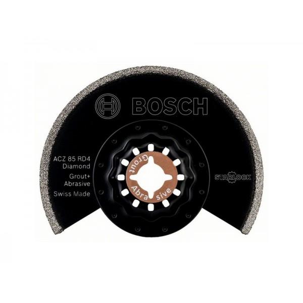 BOSCH ACZ 85 RD4 DIAMOND-RIFF LAMA SEGMENTATA TAGLIO DI PIASTRELLE VETRORESINA