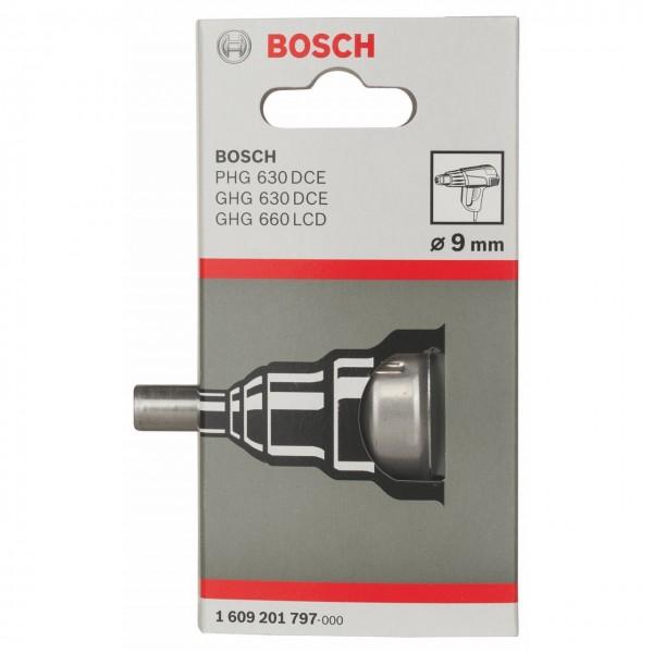 BOSCH 1609201797 RICAMBIO UGELLO BOCCHETTA DI RIDUZIONE 9 mm PER TERMOSOFFIATORI