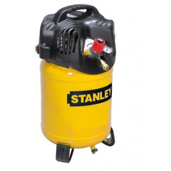STANLEY D 200 COMPRESSORE ARIA VERTICALE 24 LT(25 LITRI) VERTICALE 1,5 HP 10 BAR