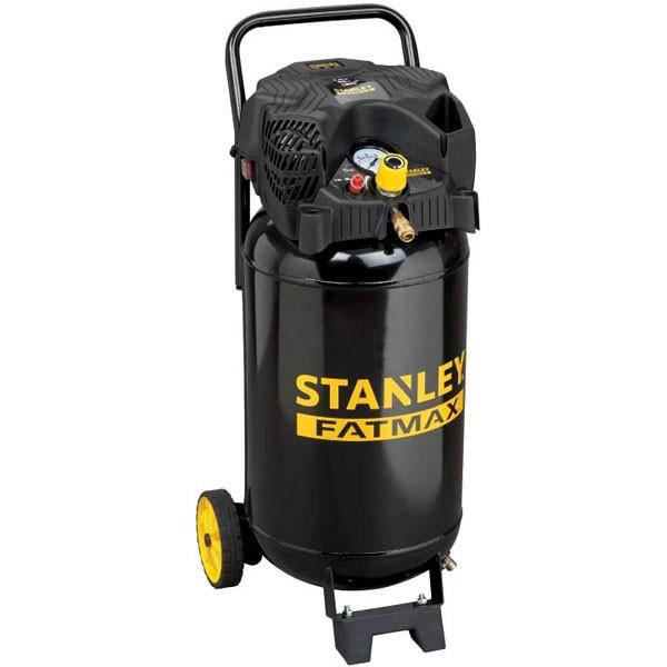 STANLEY D 230/10/50V COMPRESSORE ARIA VERTICALE 50 LT LITRI 2 HP 10 BAR CARRELLA
