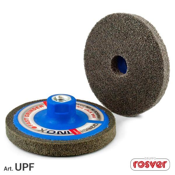 ROSVER UPF DISCO DISCHI ONE STEP PER FINITURA Ø115 FORO M14 PER INOX
