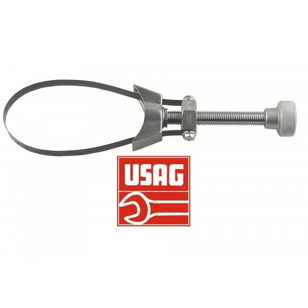 USAG 443 BC U04430015 Chiave a Nastro Metallico per Filtri Olio Veicoli Industriali