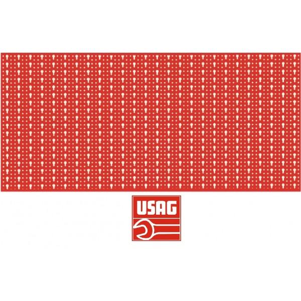 USAG 501 PB CM 200X80 PROF. PANNELLO FORATO PORTA UTENSILI PER CHIAVI Q05010105