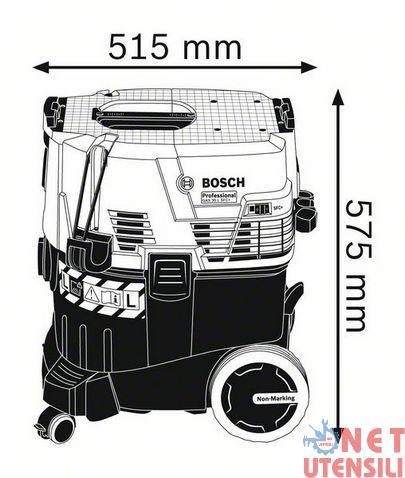 BOSCH-GAS-35-L-SFC-ASPIRAPOLVERE-PER-ELETTROUTENSILI-CN-SCUOTI-FILTRO-A-VIBRAZIO